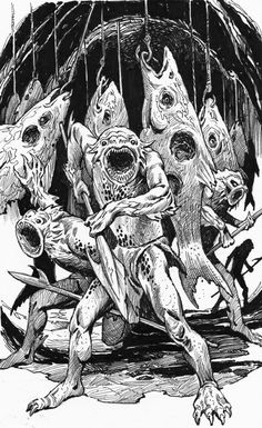 Dcc Rpg, Eldritch Horror, Dnd Art, Fantasy Creatures, Dungeons And Dragons, Rats, Old School, Monsters, Fantasy Art