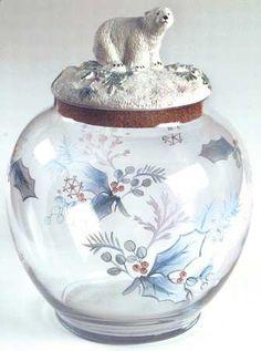 PFALTZGRAFF Winter Frost cookie jar