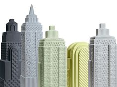 Lladro Atelier's Decorative Porcelain Collection by Jaime Hayon: Metropolis.