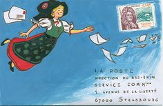 Concours Mail Art - Gally m'a tuer