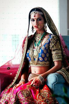 Indian Bride in #TarunTahiliani