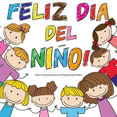 Imágenes bonitas para el Día del Niño con hermosas frases Online Classroom, Happy B Day, Tutorial, Disney Mickey, Holidays And Events, Diy Gifts, Art For Kids, Diy And Crafts, Alice In Wonderland