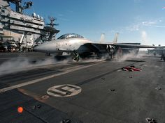 F-14 Tomcat launches from the George Washinton