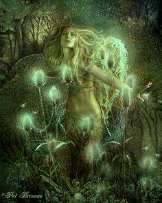 .:☆ Lighting up Time :: Artist Pat Brennan ☆:.