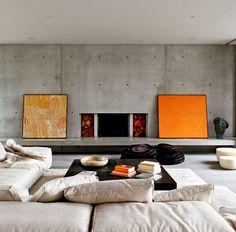 Méchant Studio Blog: orange & grey