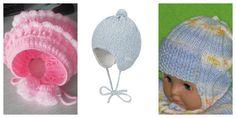Красивые вязаные шапочки
