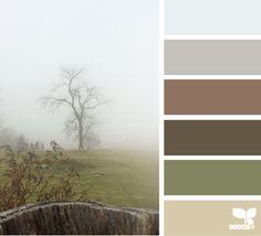 Foggy Tones - http://design-seeds.com/index.php/home/entry/foggy-tones1