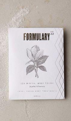 Formulary 55 Body Polish