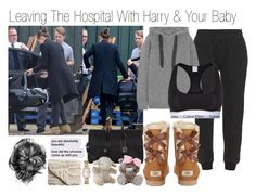 """""""Leaving The Hospital With Harry And Your Baby (Requested)"""" by one-direction-outfitsxxx ❤ liked on Polyvore featuring Yves Saint Laurent, Bloomingville, Cloud B, adidas Originals, UGG Australia, Marc by Marc Jacobs, Calvin Klein Underwear and Chanel"""