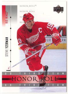 Steve Yzerman # 20 - 2001-02 Upper Deck Honor Roll Hockey
