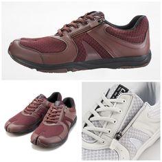 New La Feet Jika Tabi Wine Red- Walking Casual Shoes 88.00 USD SKU  LAFEET. Japan  Lover Me Store 6d0bb6a46