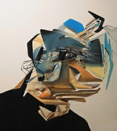 """Saatchi Art Artist daniel maczynski; Painting, """"head"""" #art"""
