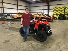 Congratulations to Thomas Norton from Union, MS for purchasing a 2018 Can-Am Renegade 850 at Hattiesburg Cycles. #canam