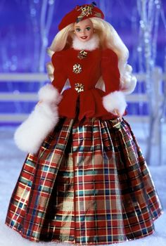 Jewel Princess Barbie Doll - Special Occasion - 1996 Winter Princess Collection - Barbie Collector