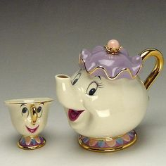 Mrs. Pots and chip (beauty and the beast) Disney