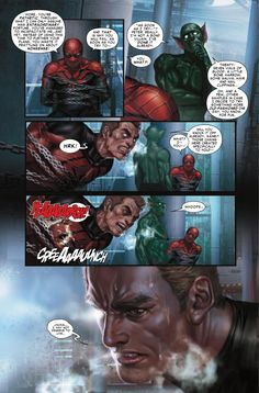"My first MARVEL's Graphic novel. ""Scarlet Spider #20.  full interior art by.In-Hyuk Lee"