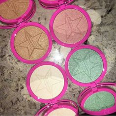 Jeffree Star Skin Frosts  #Highlighters !! #summermakeup2016 Must have!