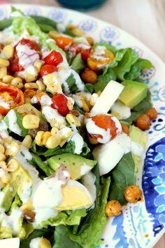 Roasted Corn & Tomato Summer Salad