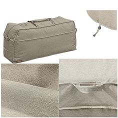 Furniture defender waterproof outdoor patio gray storage bag protector cover new #PerfectAllinaceLad