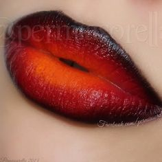 This dark ombre lip is a surefire stand-out. See the how-to and learn how to layer lipsticks for this cool effect.