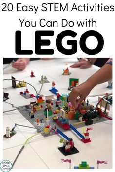 Make STEM education extra fun with these LEGO STEM activities for kids! Perfect for including math, science, and engineering together! Preschool Games, Fun Activities For Kids, Stem Activities, Stem Projects, Projects For Kids, Stem Learning, Kids Learning, Lego Math, Lego Challenge