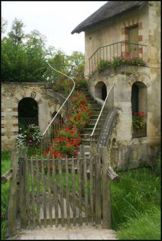 one of Marie Antoinette's cottages