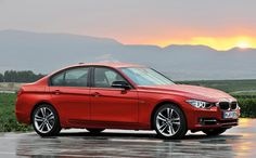 Hmmm... this will take a while to grow on me -- new BMW 3-Series.