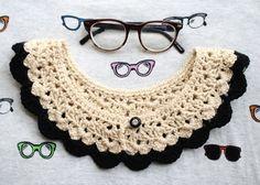 one sheepish girl: Crochet Collar Obsessed!