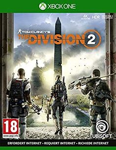 The Division 2 - Videospiele - Xbox One Tom Clancy The Division, Playstation, Xbox One Games, Ps4 Games, Devil May Cry, Call Of Duty, Brink Game, Washington Dc, Sleeper Agent