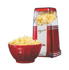 Macchina popcorn Ariete. Bella, funzionale, dal design vintage e un colore rosso che ben si adatta a qualsiasi cucina. Un'idea regalo per amici e fidanzati!
