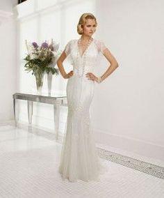 Rachele wedding dress by Ronald Joyce
