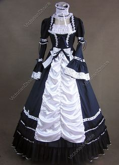 Renaissance Gothic Lolita Dress Ball Gown