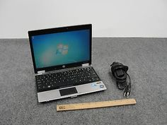 "HP EliteBook 2540p 12.1"" Laptop Core i7-640L, 4GB RAM, 156GB SSD & Charger"