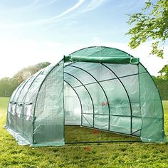 P&G Market 20'x10'x6.5′ Ft Outdoor Deluxe Greenhouse Portable Walk-in Large Size Warm Garden House    http://landscapeandlighting.net