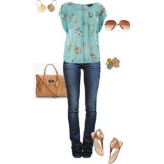 Spring Blue, created by fun-to-wear on Polyvore