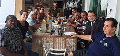 Prefeita e vereadores do Prado discutem propostas e melhorias para o município