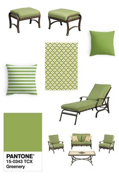 Have Your Patio Furniture In Style For 2017 Pembrey Moss Cushions Are Perfect For Greenery