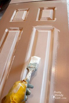 How to Paint Doors The Professional Way ! Excellent Tutorial !