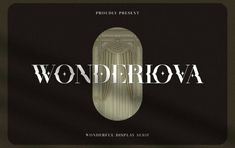 Stiahnite si nadpisové písmo Wonderlova