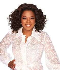 Oprah Winfrey: I don't agree with her views on religion or politics, but she does know how to conduct herself with grace and elegance.