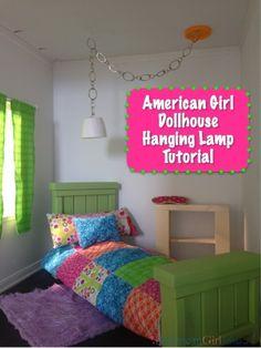 American Girl Lamp Tutorial