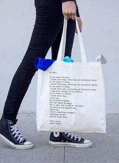 Market Canvas Bag, Invincible Summer Tote Bag, Albert Camus book quote tote bag, Shopper Bag, eco grocery bag
