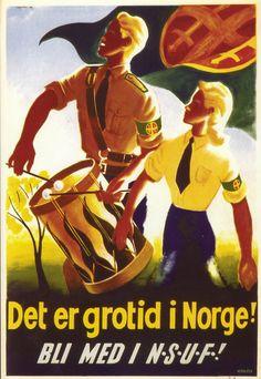 Por el orgullo de Noruega, enlistate en la NSUF