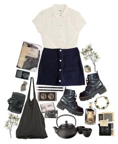 """""""Gosh, I suck at this game..."""" by thewitchishere on Polyvore featuring City Chic, Claudie Pierlot, Laneus, Madewell, Adagio Teas, Crate and Barrel and plus size clothing"""