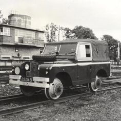 Land Rover Defender series II British Rail. Both Land Rover and out-of-house contractors have offered conversions and adaptations to the basic vehicle, such as fire engines, excavators,'cherry picker' hydraulic platforms, ambulances, snowploughs, and six-wheel-drive versions as well as one-off special builds including amphibious Land Rovers and vehicles fitted with tracks instead of wheels.