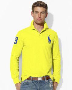 Custom Big Pony Polo Shirt - Polo Ralph Lauren Custom-Fit - RalphLauren.com