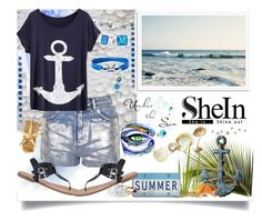 """""""Sheinside Top"""" by jeneric2015 ❤ liked on Polyvore featuring Topshop, Effy Jewelry, Philmore, Bling Jewelry and Salvatore Ferragamo"""