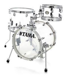 "Tama VI36MWS-CI Silv. Mirage Kesselsatz besteht aus:  16"" x 14"" Bass Drum (mit Rosette und Lifter) 10"" x 6,5"" Tom Tom 14"" x 12"" Floortom"