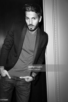 French singer and song writer Matt Pokora is photographed for ELLE France on May 1, 2013 in Paris, France. PUBLISHED