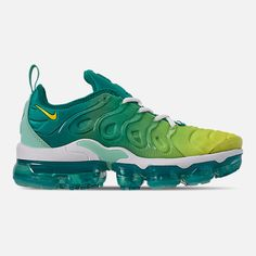 Women's Nike Air VaporMax Plus Running Shoes Girls Sneakers, Casual Sneakers, Sneakers Fashion, Casual Shoes, Shoes Sneakers, Nike Air Shoes, Nike Air Vapormax, Nike Air Max Running, Running Shoes